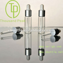 TP-2-10-4 essential oil bottles 6ml clear glass cosmetic bottles with dropper