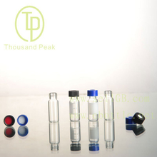 TP-1-18 1.5ml clear glass vials with foil cover