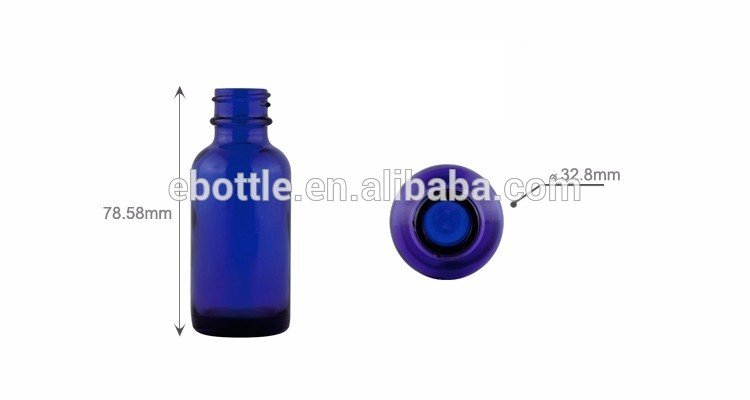 1oz Glass Dropper Bottle / Boston Round Glass bottle with Dropper