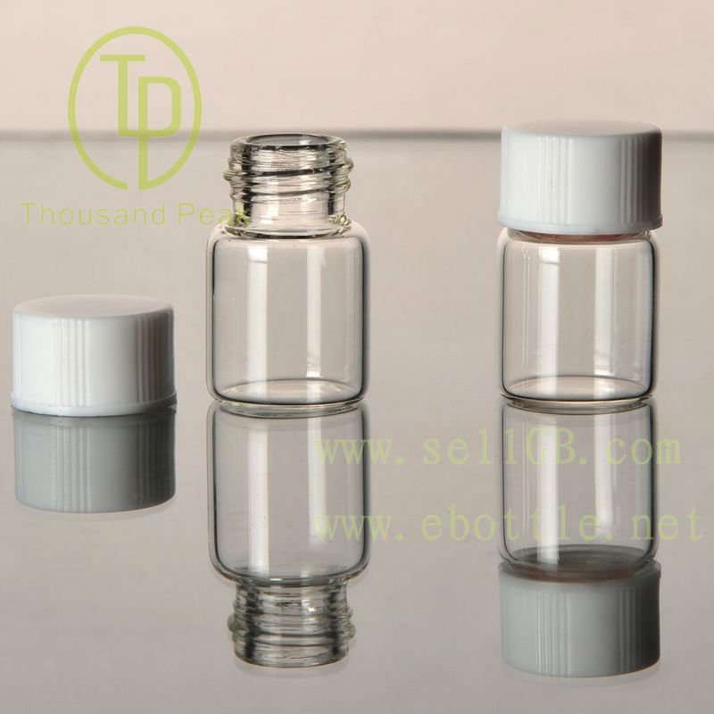 TP-1-02 1.5ml clear screw-neck glass vials with cap
