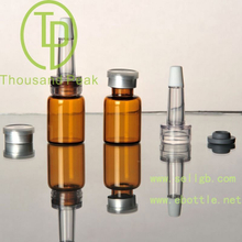 TP-2-02 5ml brown Bayonet bottle with butyl rubber stopper open aluminum alloy group and cover and a trumpet head